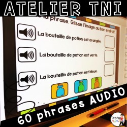 Atelier TNI - 60 Phrases AUDIO HALLOWEEN - OCTOBRE