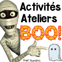 Boo! Ateliers Halloween 1er cycle