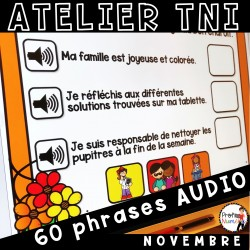 Atelier TNI - 60 Phrases AUDIO NOVEMBRE