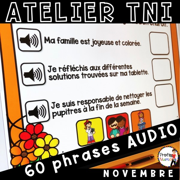 Atelier TNI - 60 Phrases AUDIO NOVEMBRE