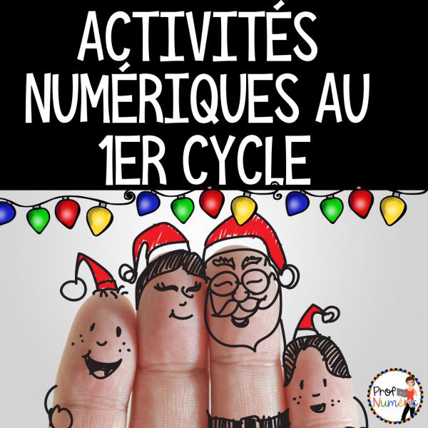 Noël - Activités du Temps des Fêtes au 1er cycle