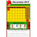 TNI - Calendrier décembre