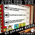 Atelier TNI - 60 Phrases AUDIO DÉCEMBRE