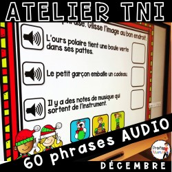 Atelier TNI - 60 Phrases AUDIO DÉCEMBRE