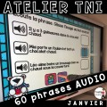 Atelier TNI - 60 Phrases AUDIO JANVIER