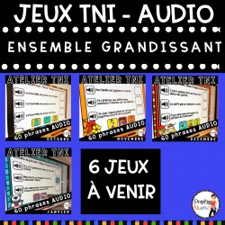 Atelier TNI - 60 Phrases AUDIO BUNDLE