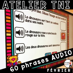 Atelier TNI - 60 Phrases AUDIO - FÉVRIER