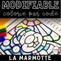Colorie par code MODIFIABLE/ ENSEMBLE COMPLET