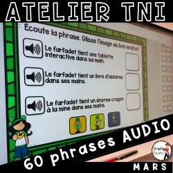 Atelier TNI - 60 Phrases AUDIO - MARS