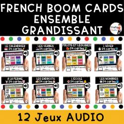BOOM cards - Mots de vocabulaire primaire