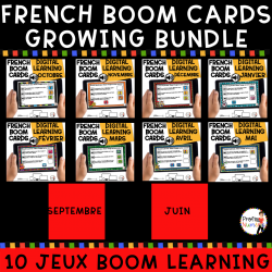 BOOM cards - 60 Phrases AUDIO + images