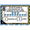 BOOM CARDS - MATHS -Dizaines et unités - 1re