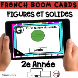 BOOM CARDS - MATHS - Figures et Solides - 2e