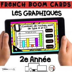 BOOM CARDS - MATHS - LES GRAPHIQUES - 2e