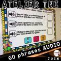 Atelier TNI - 60 Phrases AUDIO - JUIN