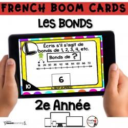 BOOM CARDS - MATHS - LES BONDS - 2e