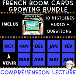 BOOM CARDS - HISTOIRE AUDIO ENSEMBLE GRAND.
