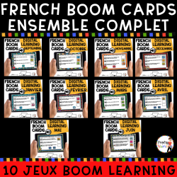 BOOM CARDS - 60 Phrases AUDIO - ENSEMBLE COMP.