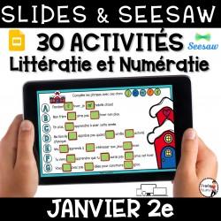 Seesaw + Google Slides - JANVIER - 2e