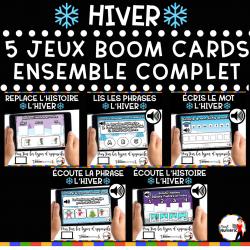 JANVIER – ENSEMBLE COMPLET (5 JEUX) BOOM CARDS