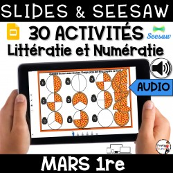 Seesaw + Google Slides - MARS - 1re