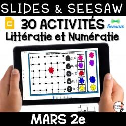 Seesaw + Google Slides - MARS - 2e