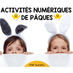 PÂQUES - ACTIVITÉS INTERACTIVES AU 1er CYCLE
