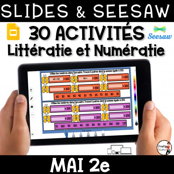 Seesaw + Google Slides - MAI - 2e