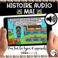 BOOM CARDS - HISTOIRE AUDIO RÉCIT - MAI