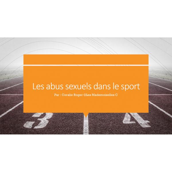 Projet sur les abus sexuels dans les sports