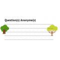 Questions anonymes (tous les modèles)