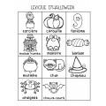 Cartes à tâches, lecture d'Halloween