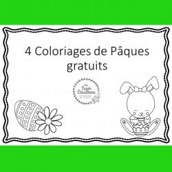 coloriages Pâques gratuits