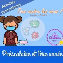 Les virus et l'hygiène - activités thematiques
