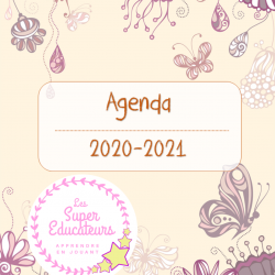 Agenda 2020-2021 vintage
