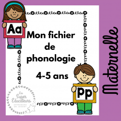 Fiches phonologie maternelle