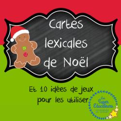 Cartes lexicales de Noël