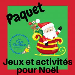 Jeux at activités de Noël