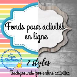 Fonds pour activités en ligne