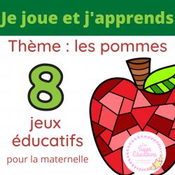 8 jeux pommes