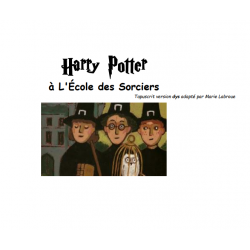 Tapuscrit Harry Potter à l'école des sorciers DYS