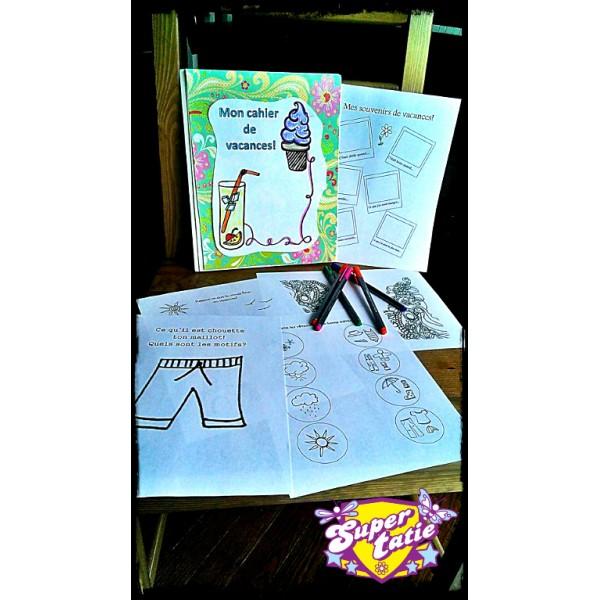 Cahier d'activités: Les vacances