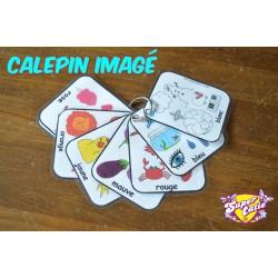 Calepin imagé couleurs à imprimer