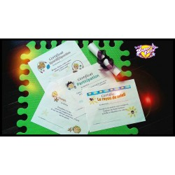 certificats préscolaire