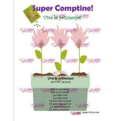 Comptine Printemps