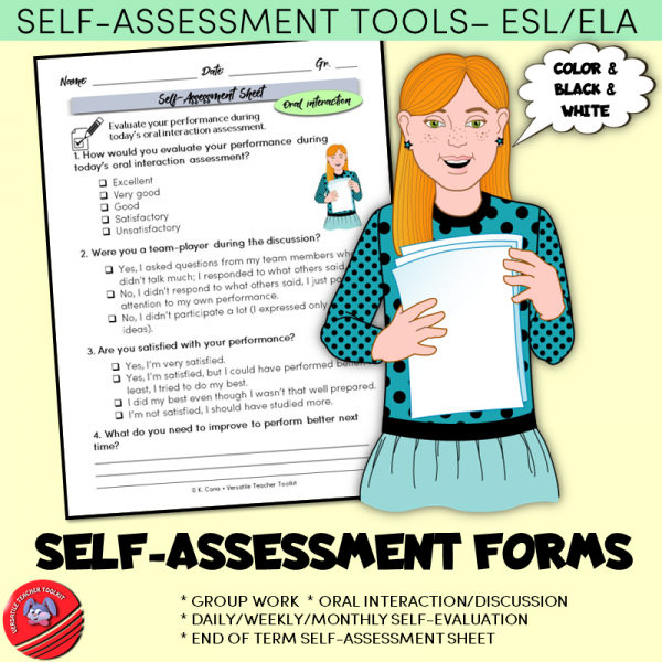 Self-evaluation Forms/Self-assessment Sheets