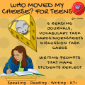 Who Moved My Cheese? for Teens Reading Journals