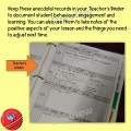 Anecdotal Record Forms (Classroom Management)