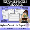Response Process Task Cards (Reading Skills)