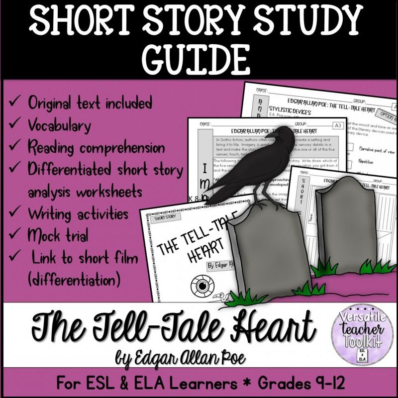 the tell tale heart by edgar allan poe literary analysis
